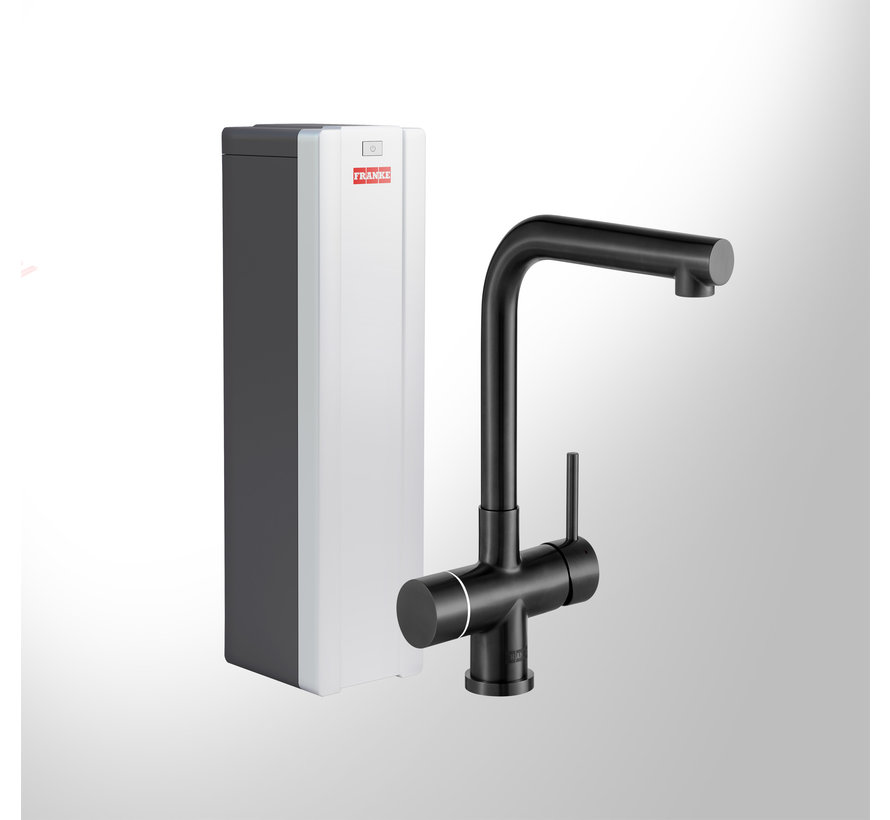 Perfect 4 Touch Mondial Black met Combi-S boiler
