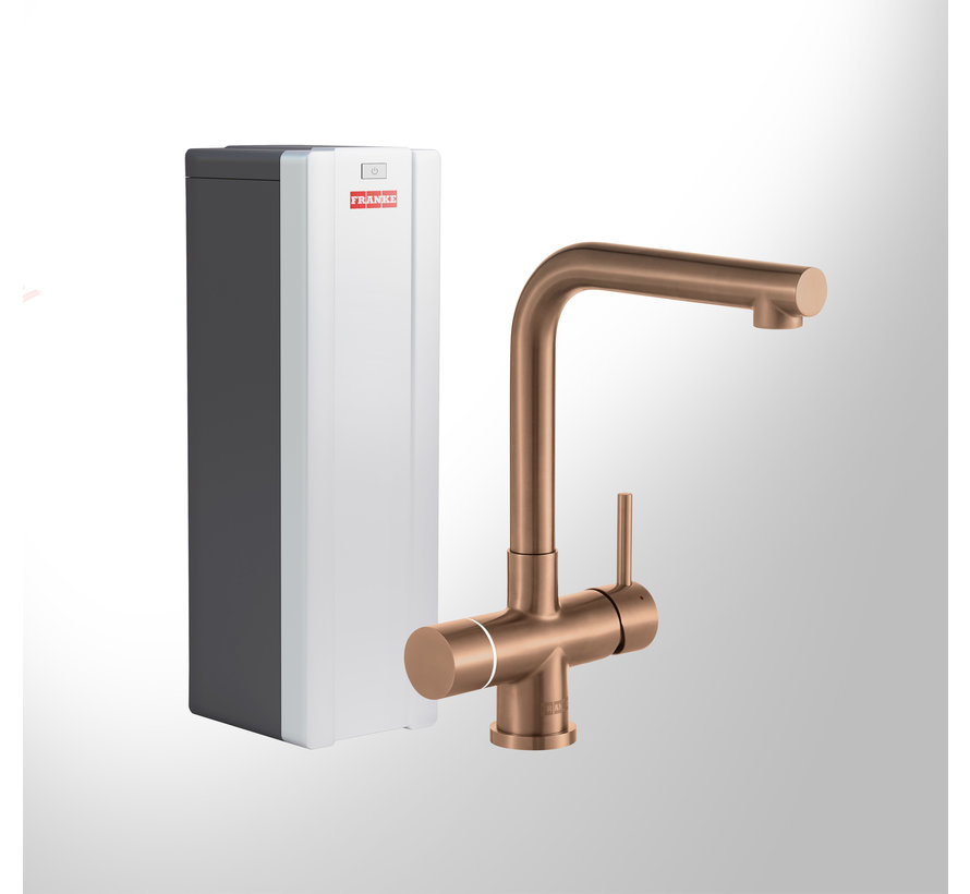 Perfect 4 Touch Mondial Copper met Combi-S boiler