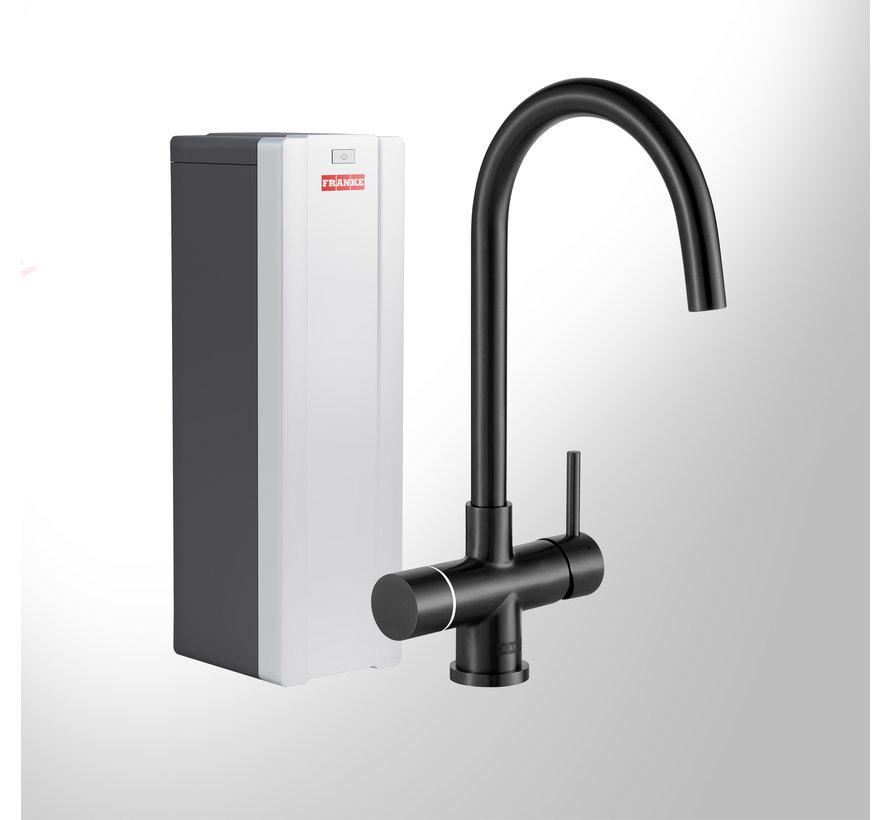 Perfect 4 Touch Helix Black met Combi-S boiler