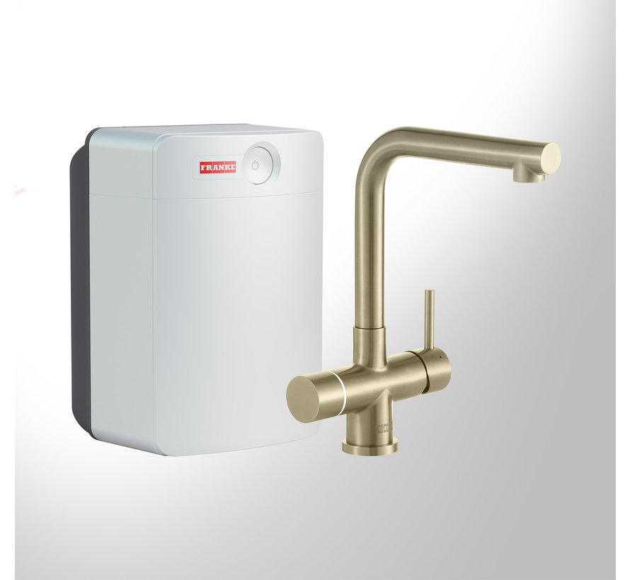 Perfect 4 Touch Mondial Gold met Combi-XL boiler
