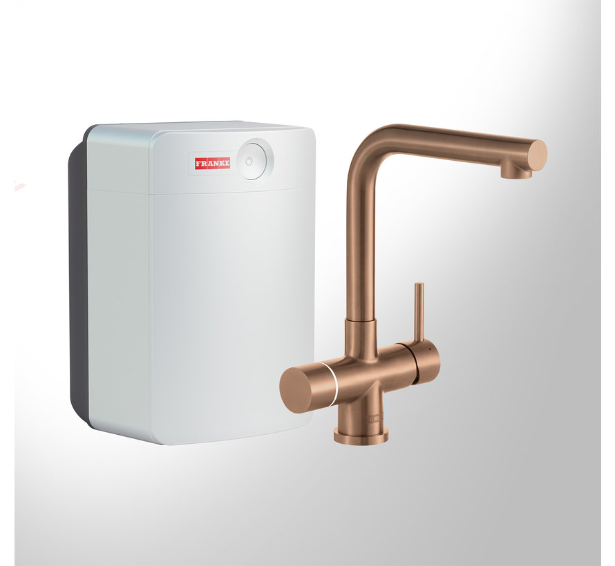 Perfect 3 Touch Mondial Copper met Combi-XL boiler