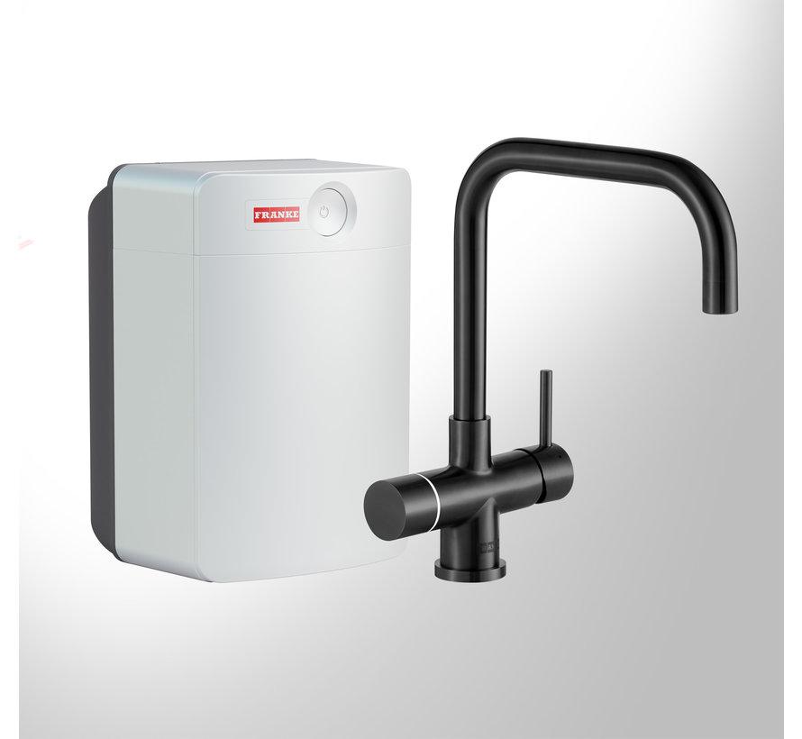 Perfect 3 Touch Pollux Black met Combi-XL boiler