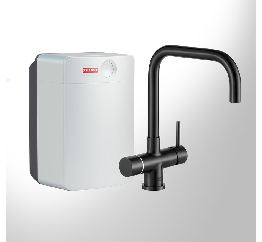 Perfect 4 Touch Pollux Black met Combi-XL boiler