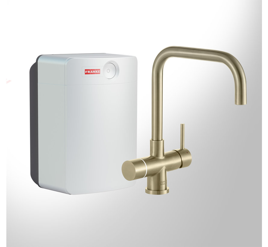 Perfect 4 Touch Pollux Gold met Combi-XL boiler