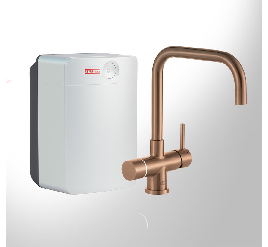 Perfect 3 Touch Pollux Copper met Combi-XL boiler