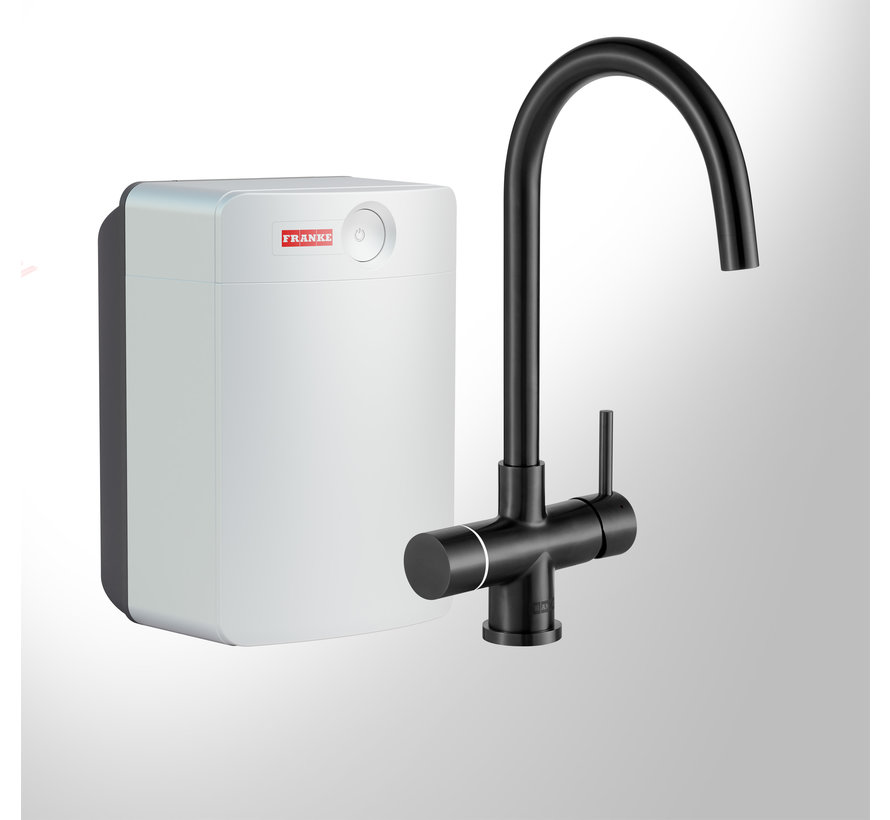Perfect 3 Touch Helix Black met Combi-XL boiler