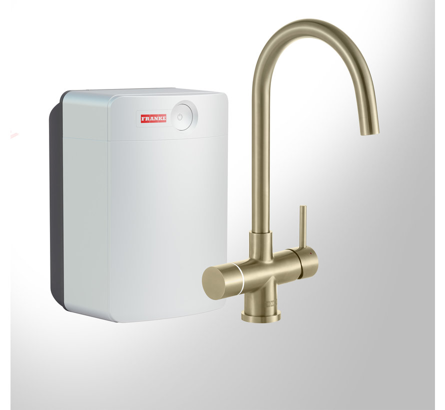 Perfect 4 Touch Helix Gold met Combi-XL boiler