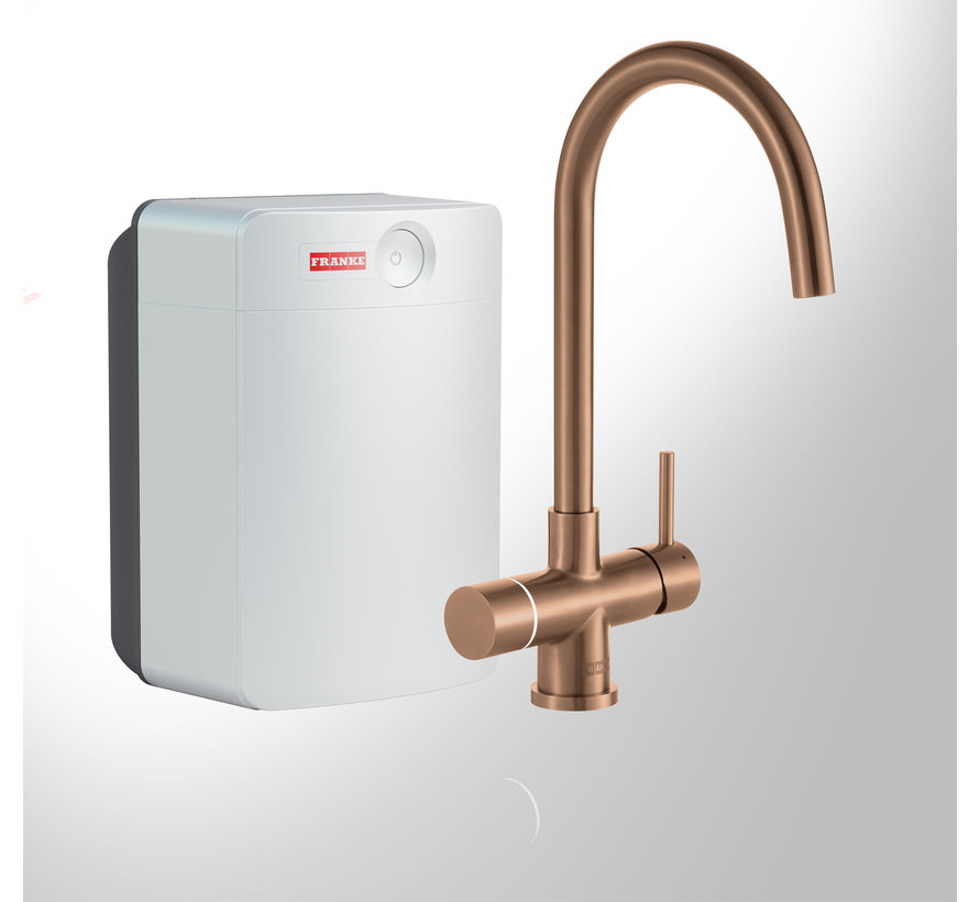 Perfect 4 Touch Helix Copper met Combi-XL boiler