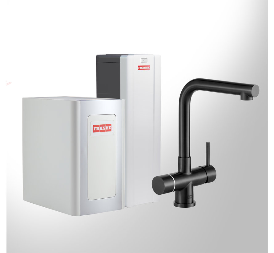 Perfect 4 Chilled Touch Mondial Black met Combi-S boiler