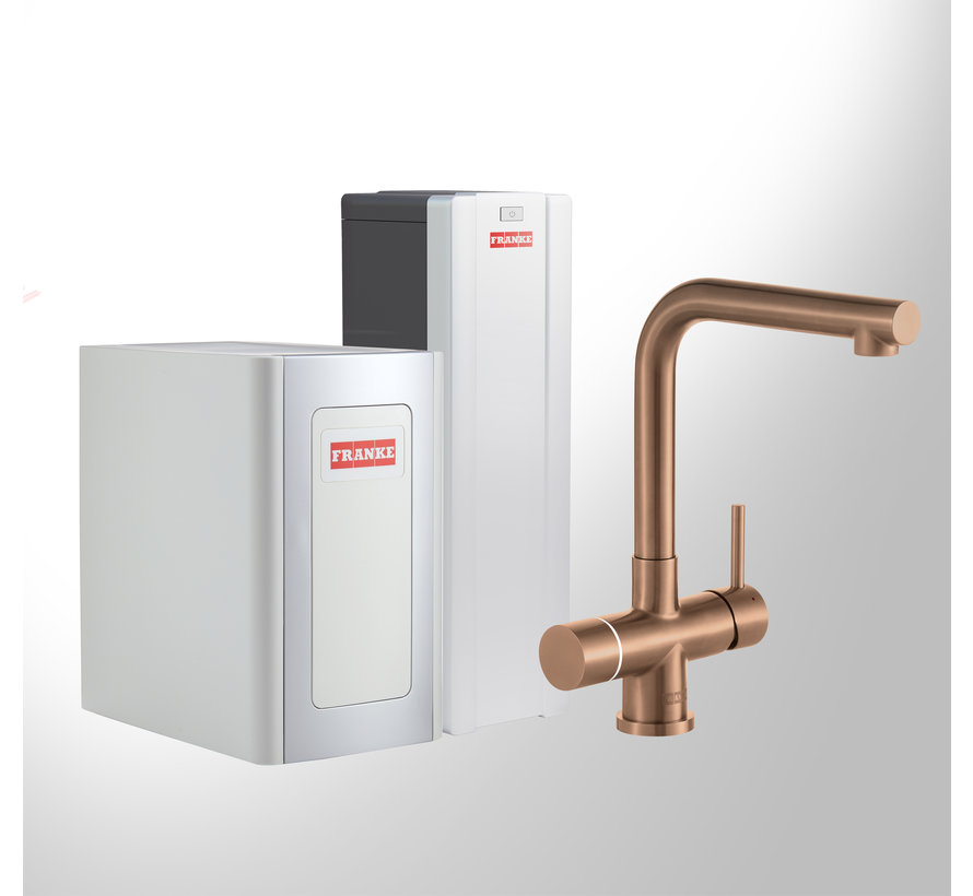 Perfect 4 Chilled Touch Mondial Copper met Combi-S boiler