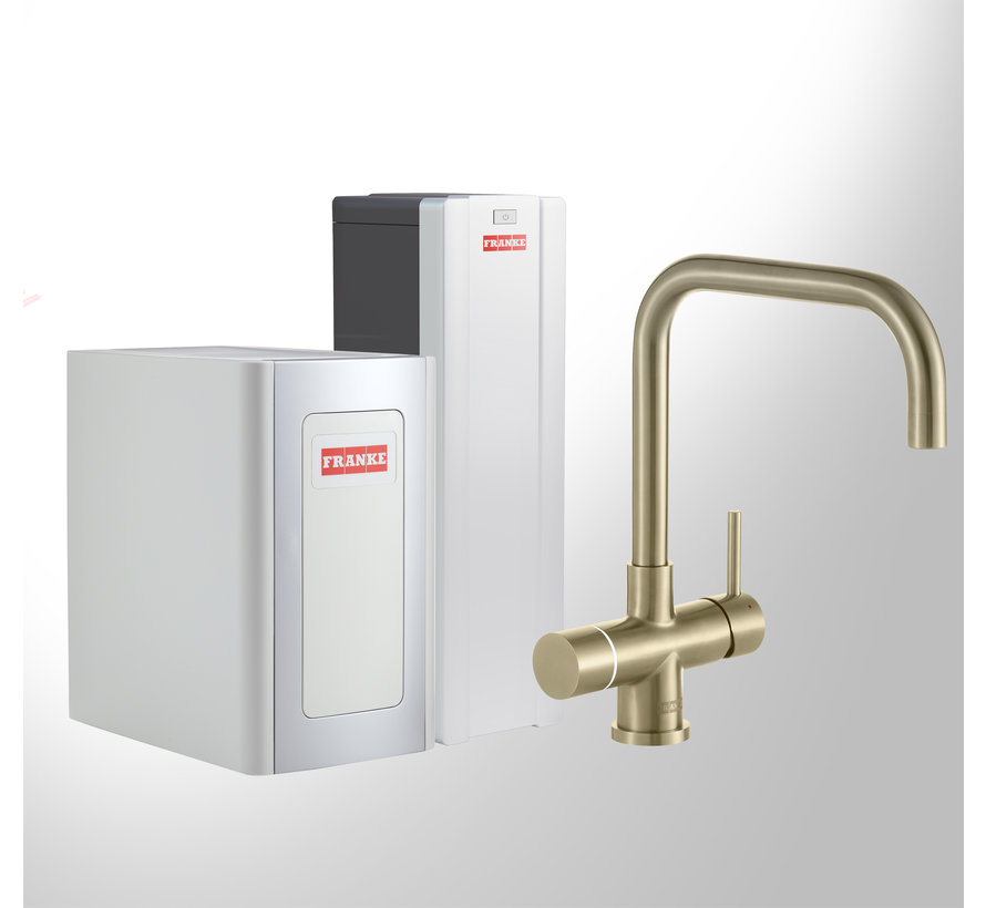 Perfect 4 Chilled Touch Pollux Gold met Combi-S boiler