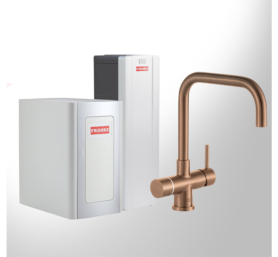 Perfect 4 Chilled Touch Pollux Copper met Combi-S boiler