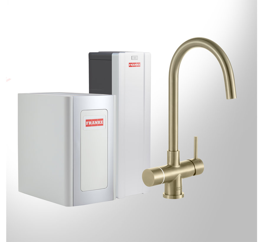 Perfect 4 Chilled Touch Helix Gold met Combi-S boiler