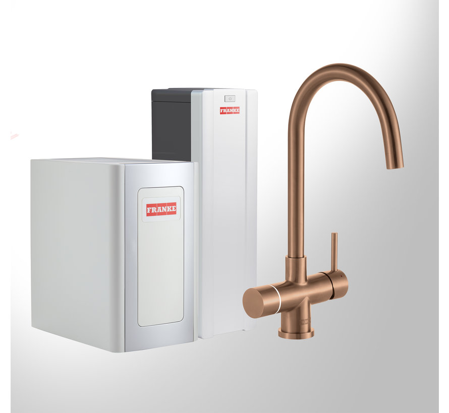 Perfect 4 Chilled Touch Helix Copper met Combi-S boiler