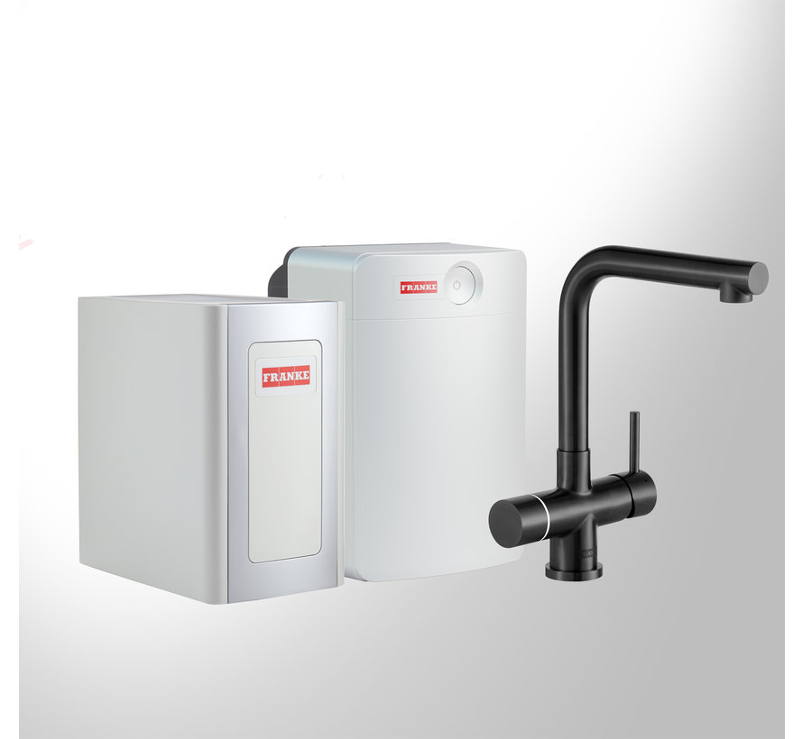 Perfect 4 Chilled Touch Mondial Black met Combi-XL boiler