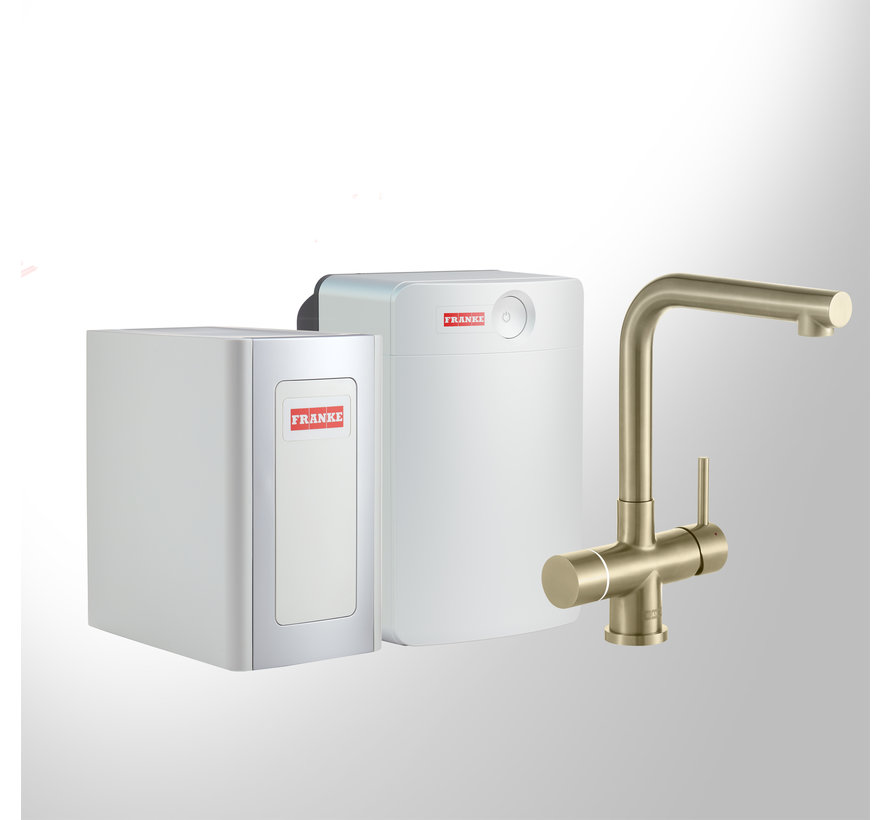 Perfect 4 Chilled Touch Mondial Gold met Combi-XL boiler