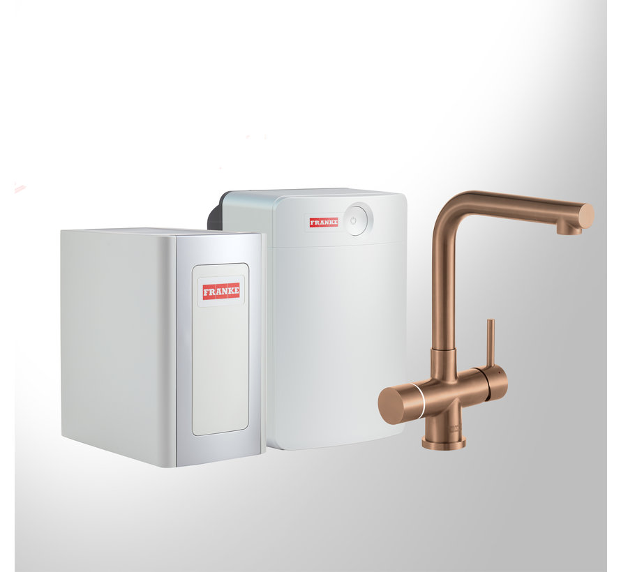 Perfect 4 Chilled Touch Mondial Copper met Combi-XL boiler