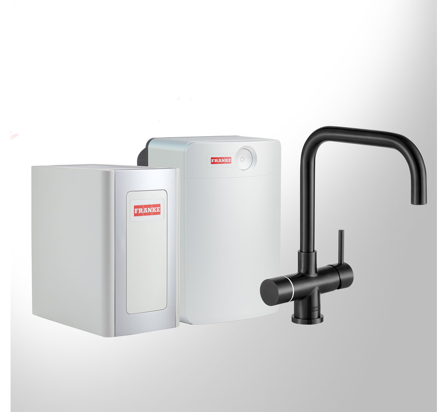 Perfect 4 Chilled Touch Pollux Black met Combi-XL boiler