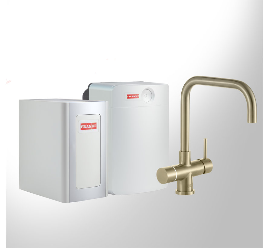 Perfect 4 Chilled Touch Pollux Gold met Combi-XL boiler