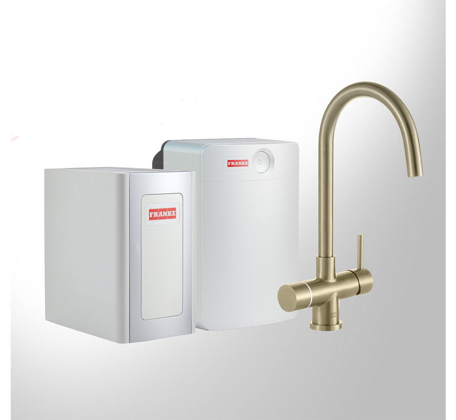 Perfect 4 Chilled Touch Helix Gold met Combi-XL boiler