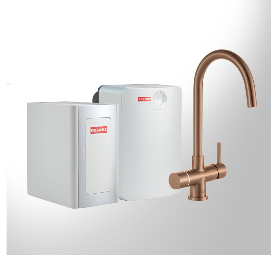Perfect 4 Chilled Touch Helix Copper met Combi-XL boiler