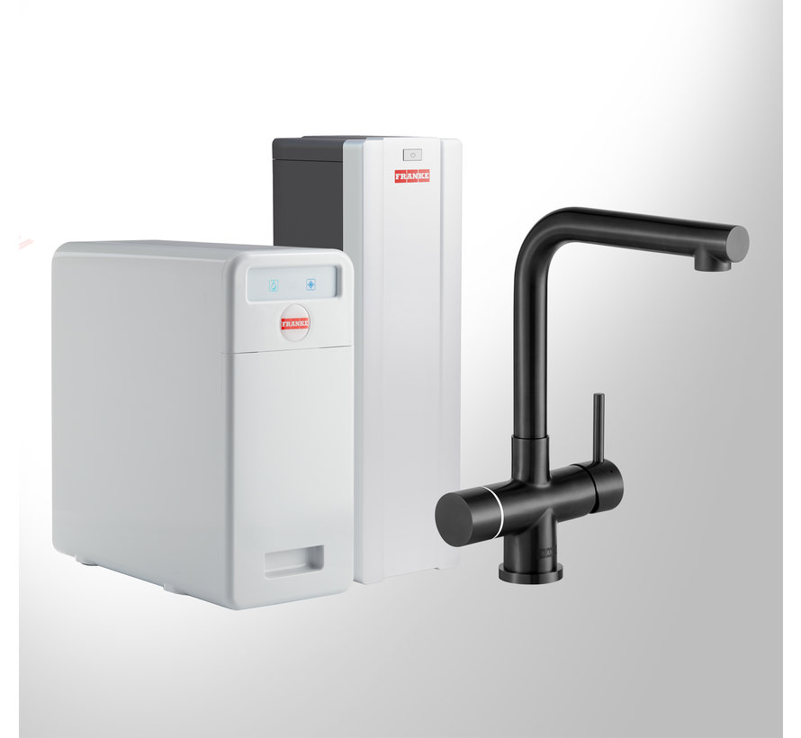Perfect 5 Touch Mondial Black met Combi-S boiler