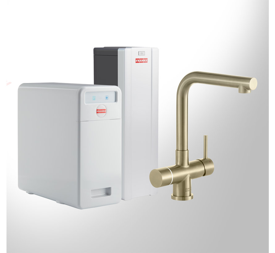Perfect 5 Touch Mondial Gold met Combi-S boiler