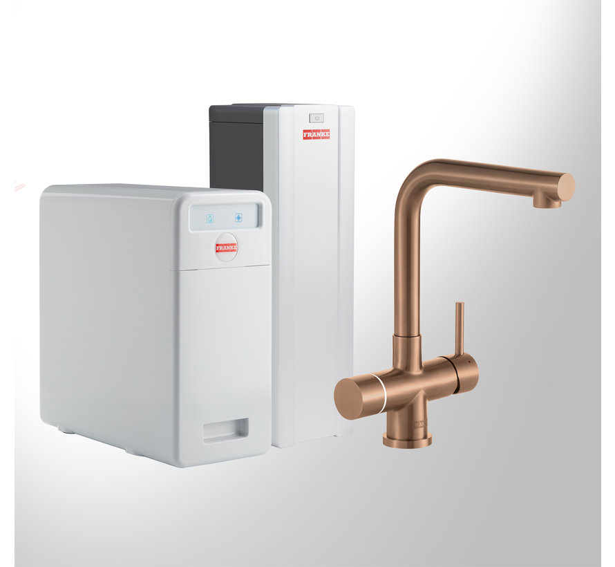 Perfect 5 Touch Mondial Copper met Combi Xcellent
