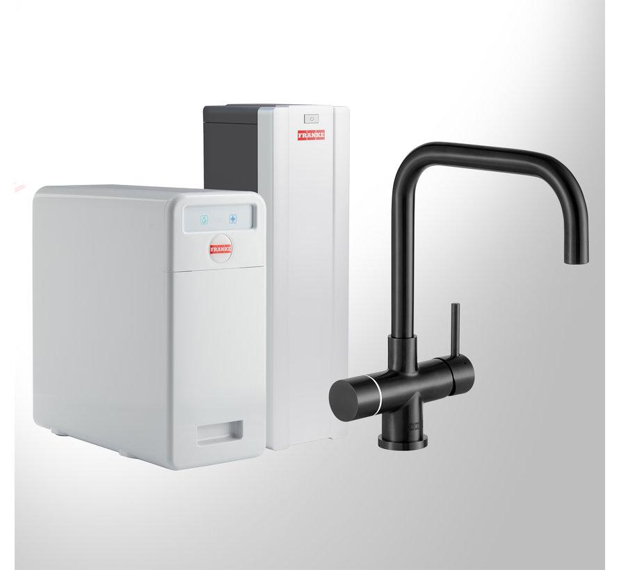 Perfect 5 Touch Pollux Black met Combi-S boiler
