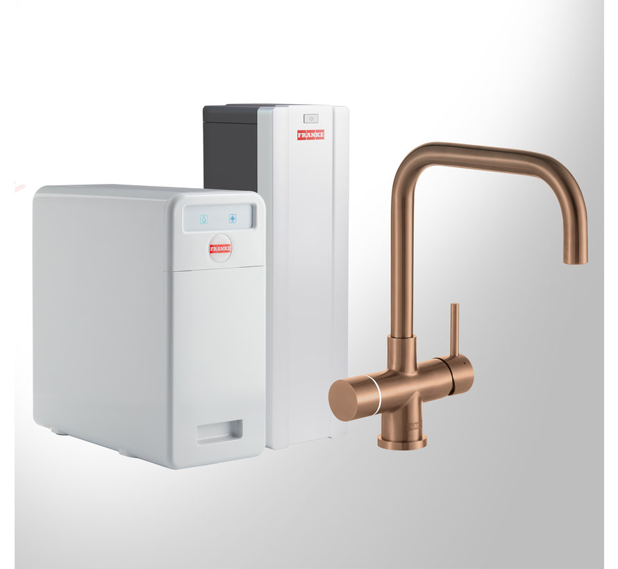 Perfect 5 Touch Pollux Copper met Combi-S boiler