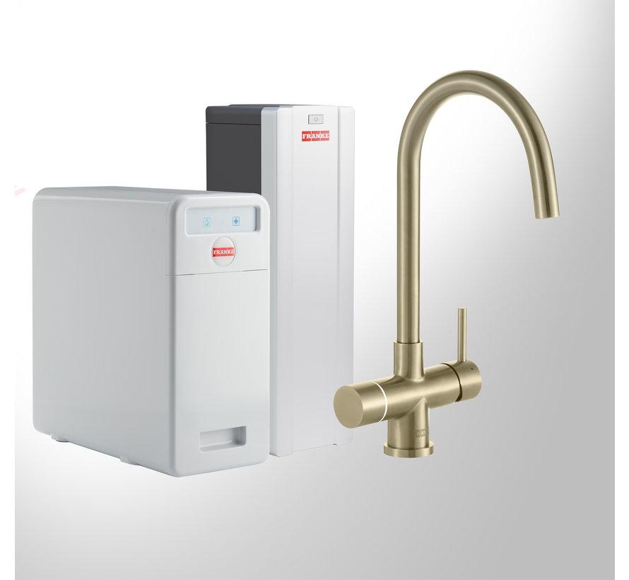 Perfect 5 Touch Helix Gold met Combi-S boiler