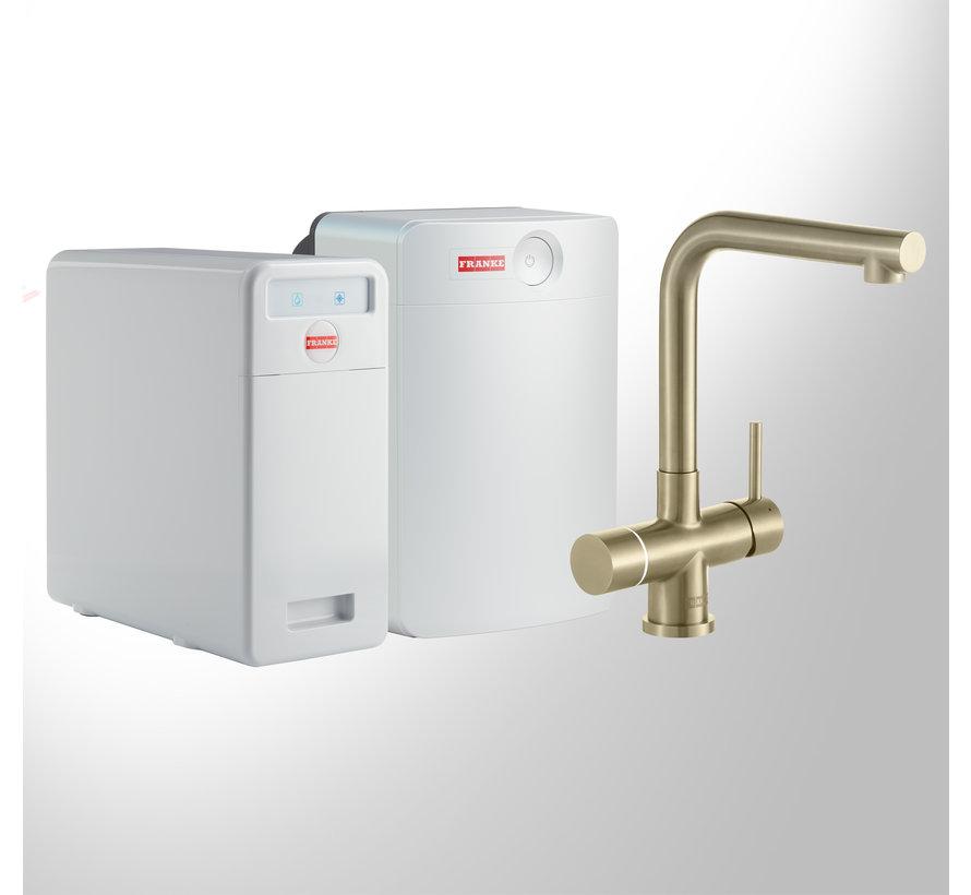 Perfect 5 Touch Mondial Gold met Combi-XL boiler