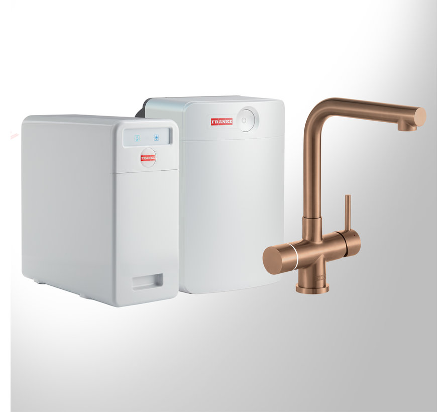 Perfect 5 Touch Mondial Copper met Combi-XL boiler