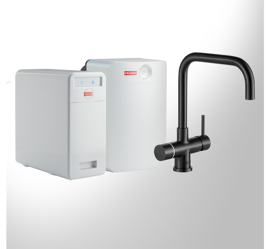 Perfect 5 Touch Pollux Black met Combi-XL boiler