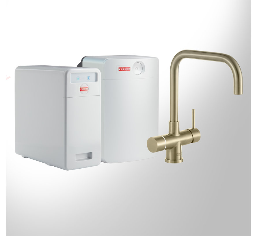 Perfect 5 Touch Pollux Gold met Combi-XL boiler