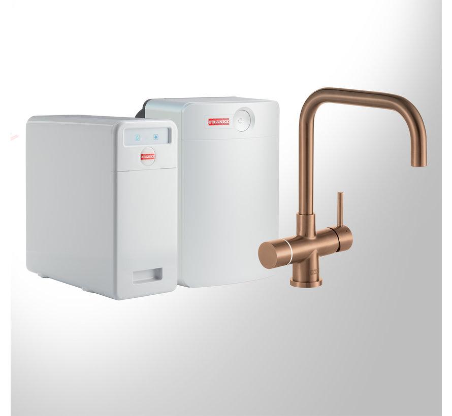 Perfect 5 Touch Pollux Copper met Combi-XL boiler