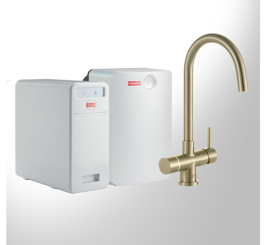 Perfect 5 Touch Helix Gold met Combi-XL boiler
