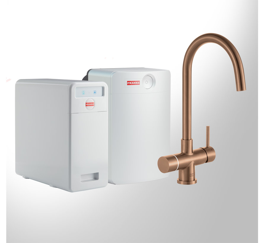 Perfect 5 Touch Helix Copper met Combi-XL boiler
