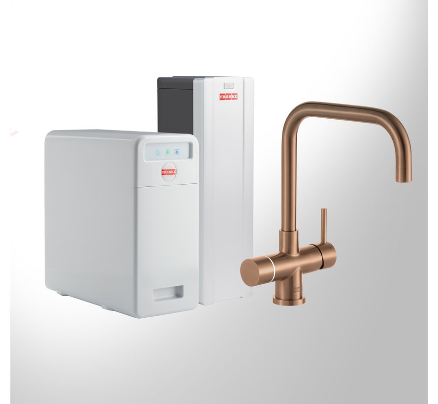 Perfect 6 Touch Pollux Copper met Combi-S boiler