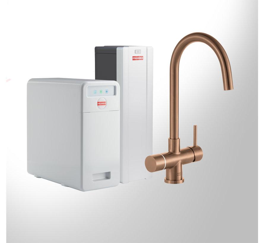 Perfect 6 Touch Helix Copper met Combi-S boiler