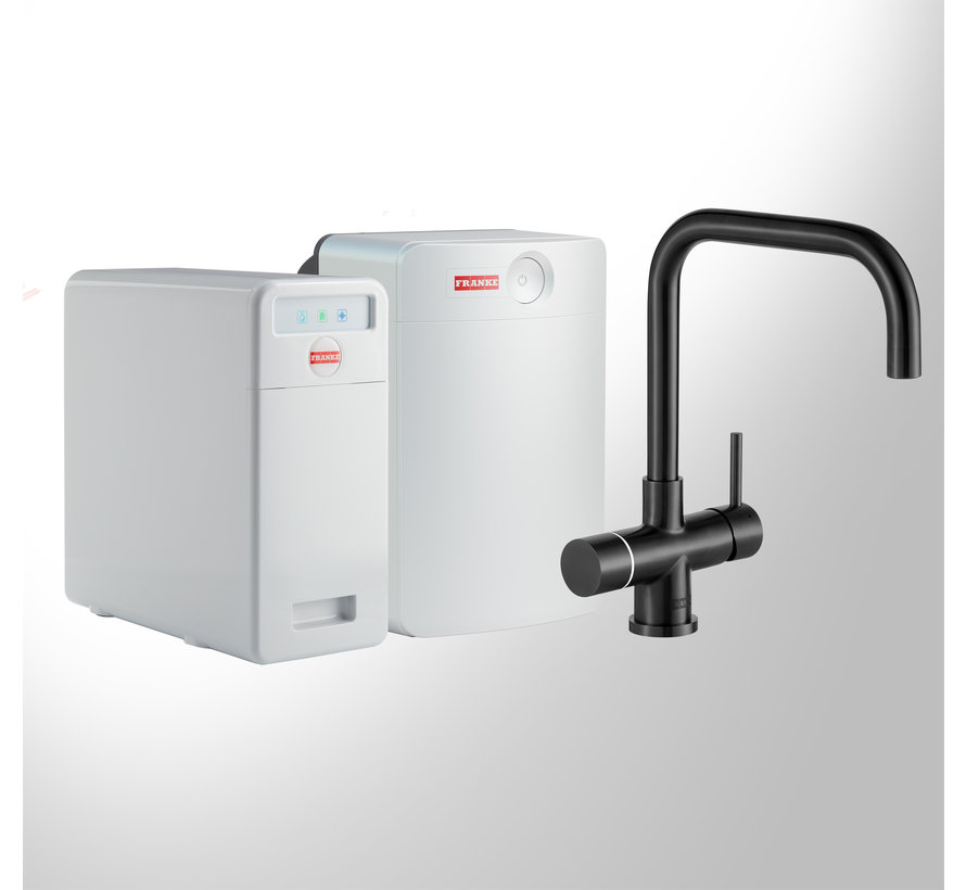 Perfect 6 Touch Pollux Black met Combi-XL boiler