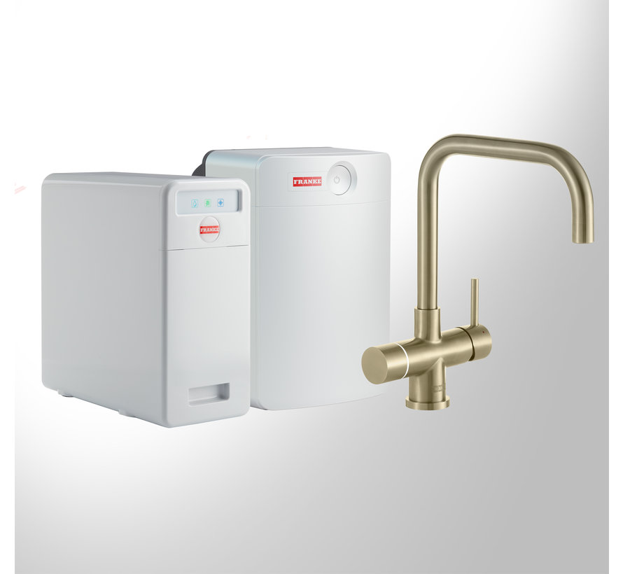 Perfect 6 Touch Pollux Gold met Combi-XL boiler