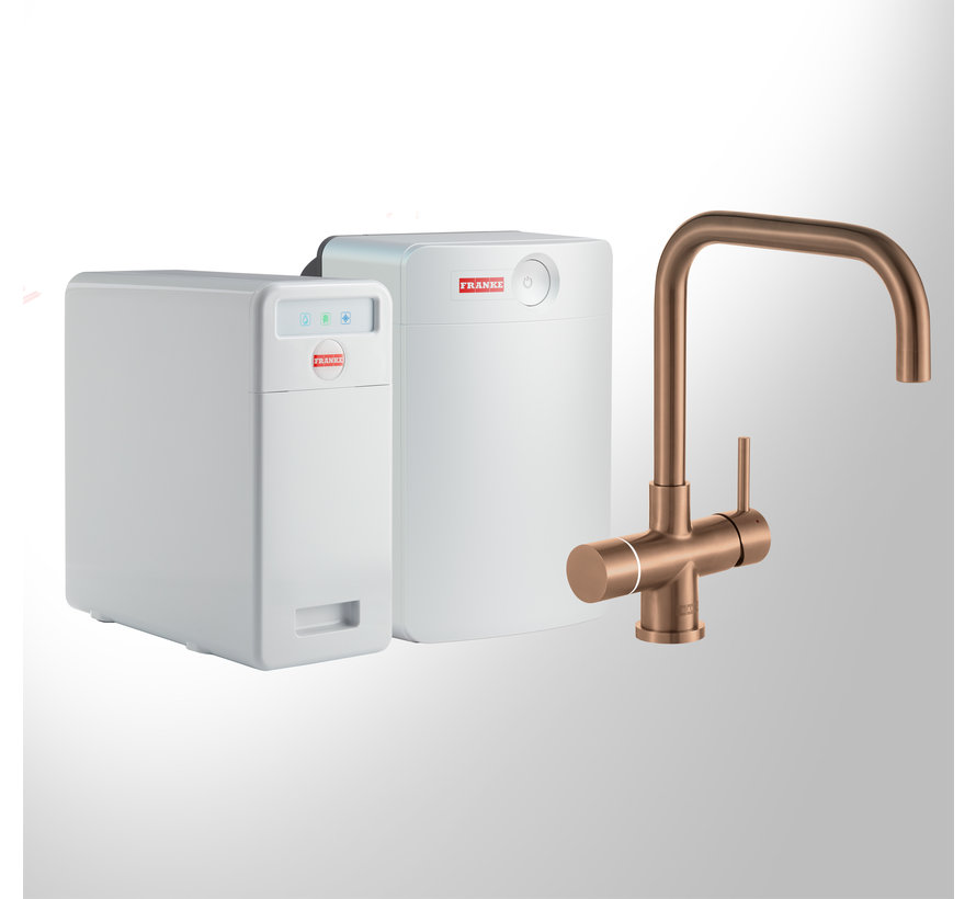 Perfect 6 Touch Pollux Copper met Combi-XL boiler