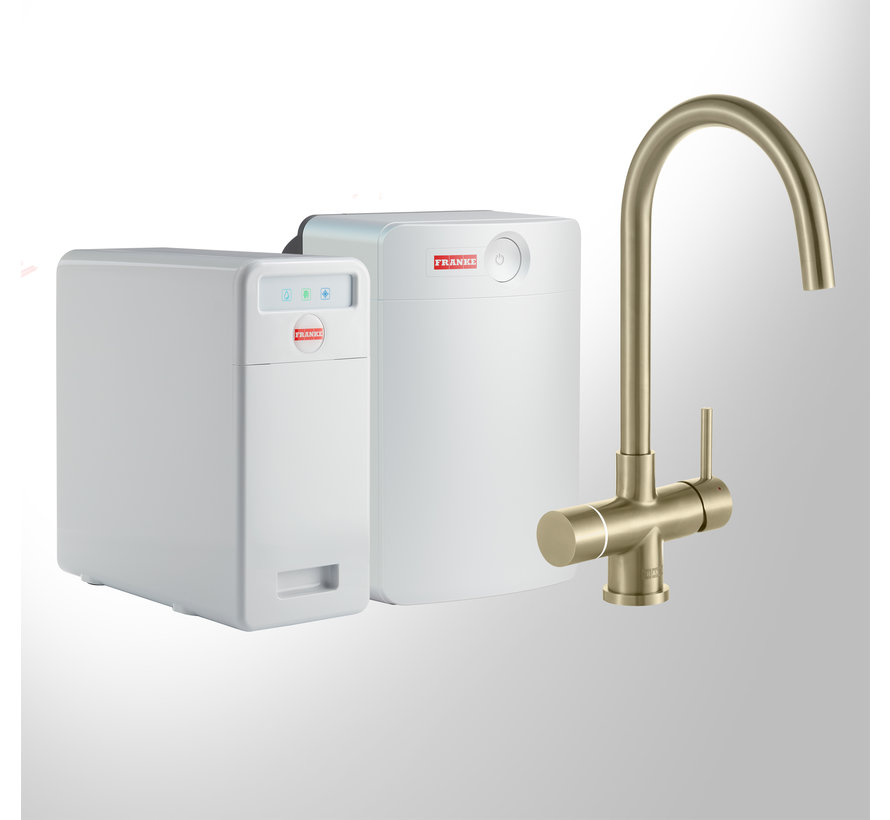 Perfect 6 Touch Helix Gold met Combi-XL boiler