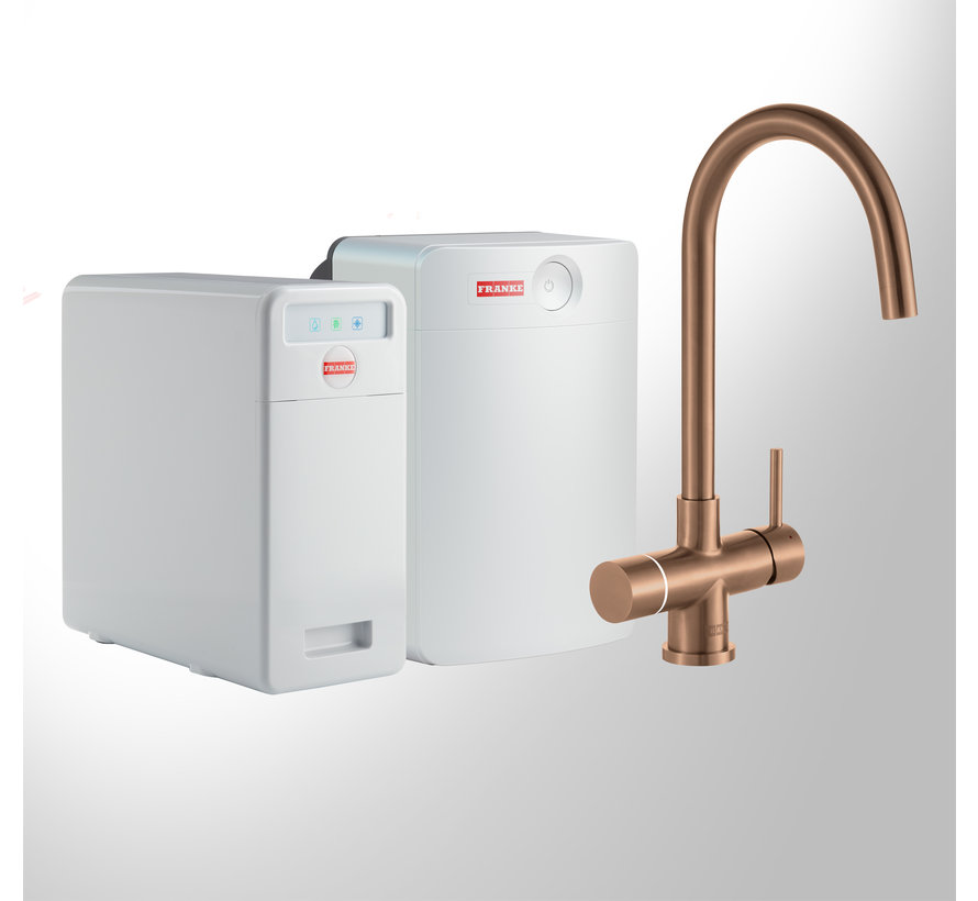 Perfect 6 Touch Helix Copper met Combi-XL boiler