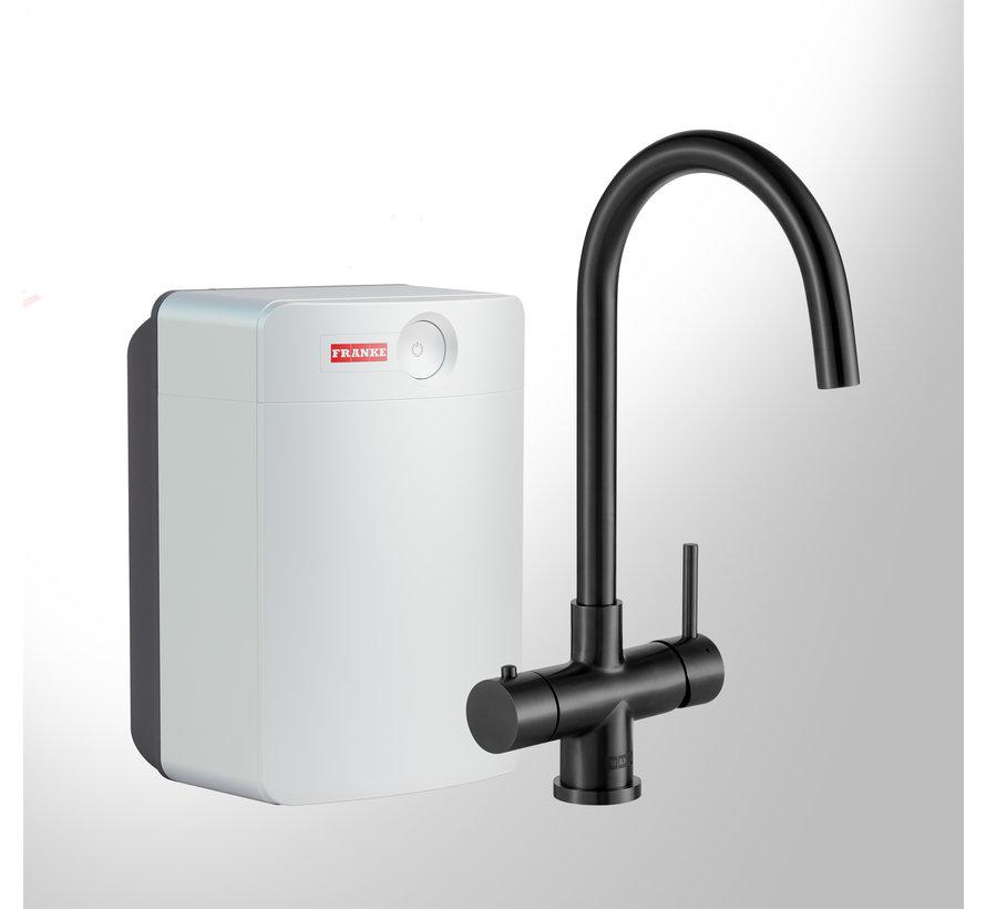 Premium3 Twist Helix Black met Combi XL boiler