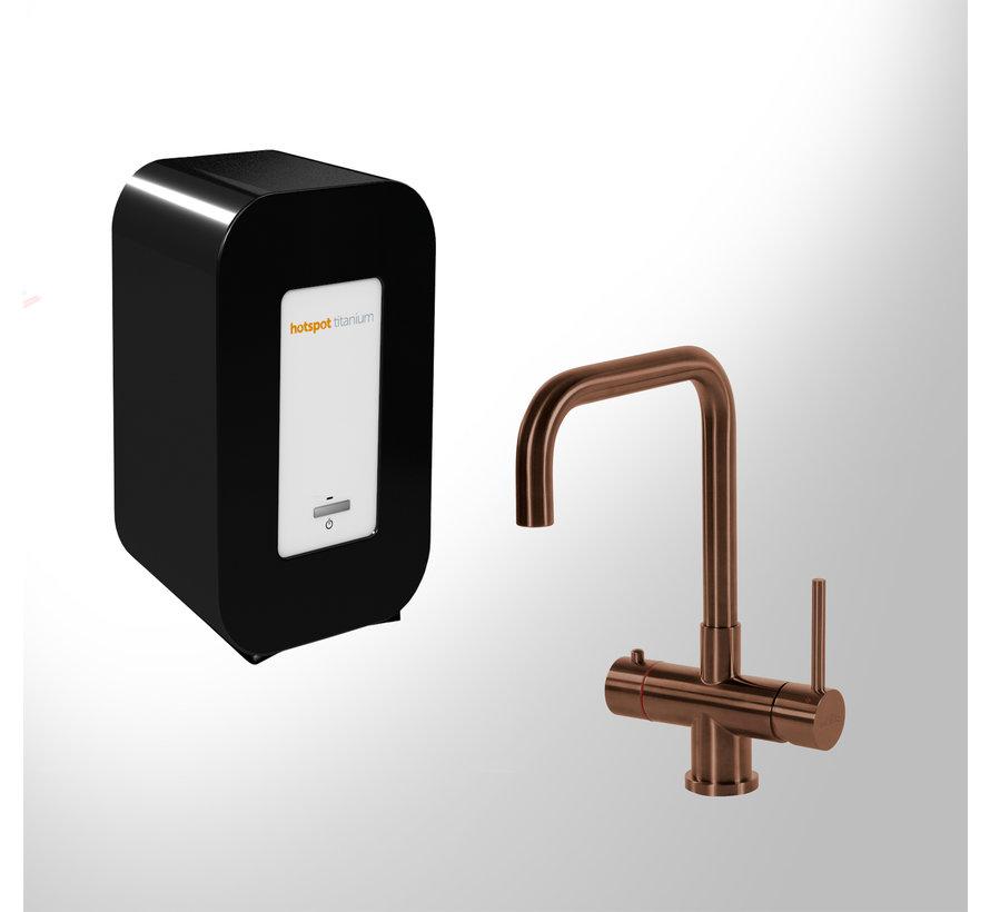 Vitoria Copper met Solo Titanium boiler