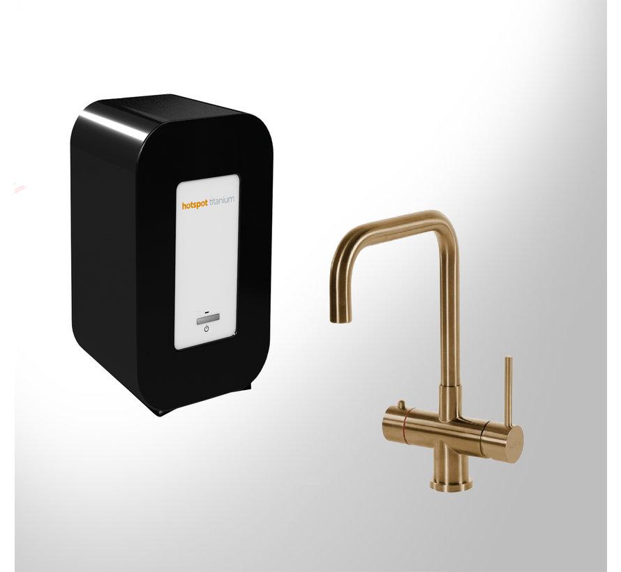 Vitoria Gold met Single Titanium boiler