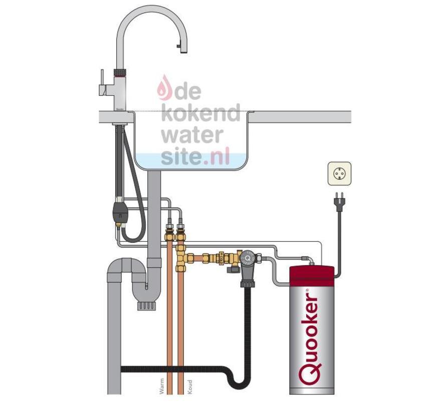 Flex RVS met PRO3-VAQ reservoir