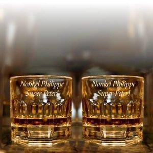 Verres à Whisky Provenza gravé